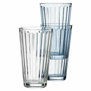 Longdrinkglas - versch. Farben - je ca. 400 ml Inhalt, je