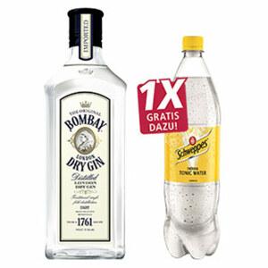 Bombay Dry Gin 37,5 % Vol., jede 0,7-l-Flasche