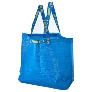 FRAKTA                                Tasche mittel, blau, 36 l
