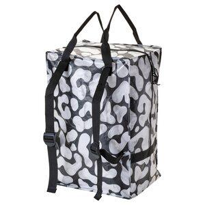 OMBYTE                                Tasche, schwarz, transparent, 72 l