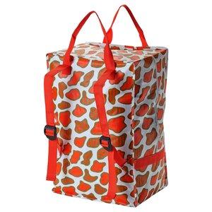OMBYTE                                Tasche, weiß/orange, 72 l