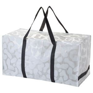 OMBYTE                                Tasche, weiß/schwarz, transparent, 128 l