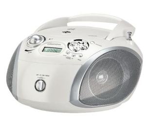 Grundig Radio Stereo CD GBR 2000, Farbe: Weiß