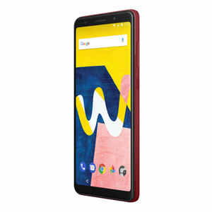 Wiko View Lite 13,8cm (5,45 Zoll), 2GB, 16GB, 13MP, Android 8.1, Farbe: Rot