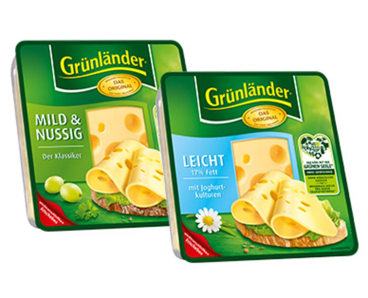 Bild 1 von Grünländer®  Käsescheiben