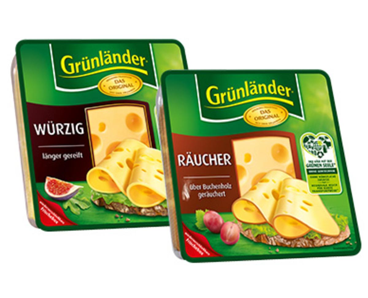 Bild 2 von Grünländer®  Käsescheiben