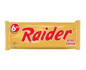 Raider® by TWIX®  RETRO EDITION
