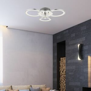 home24 LED-Deckenleuchte Surrey