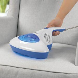 CLEANmaxx Milben-Handstaubsauger mit UV-C-Licht 300W blau/weiß