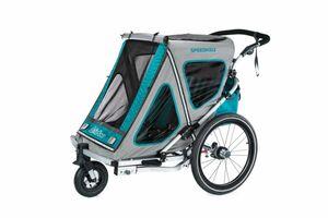 Qeridoo Speedkid2 Kindersportwagen Modell 2018 aquamarin