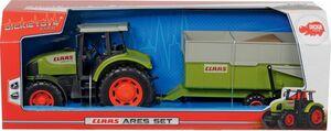 DICKIE Toys Claas Traktor Ares Set
