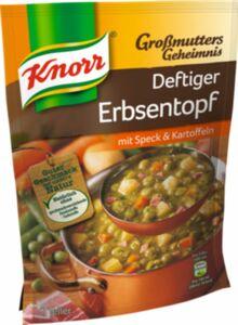 Knorr Großmutters Geheimnis Erbseneintopf 600ml