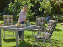 Bild 3 von FLORABEST Florabest Polsterauflage Hochlehner bunt kariert 120x50x8 cm Outdoor