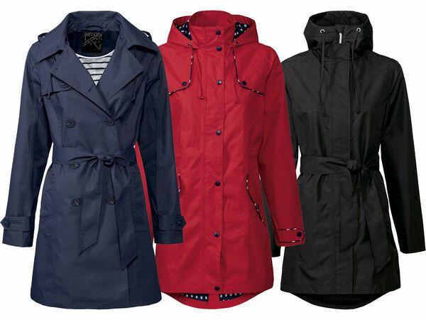 ESMARA® Damen Regentrenchcoat/-mantel
