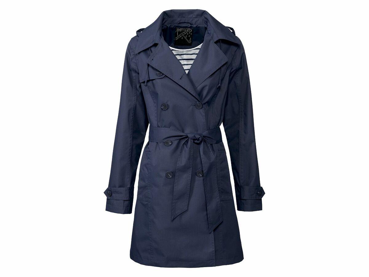 Bild 2 von ESMARA® Damen Regentrenchcoat/-mantel