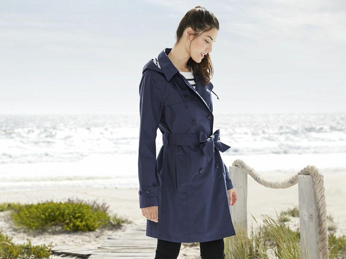 Bild 4 von ESMARA® Damen Regentrenchcoat/-mantel