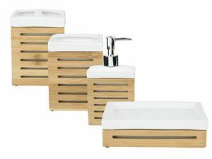 MIOMARE® Badaccessoires Bambus / Keramik