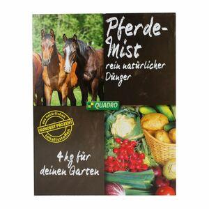 Quadro Pferdemist Dünger pelletiert 4kg