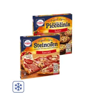 Original Wagner Steinofen Pizza, Piccolinis oder Flammkuchen original