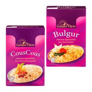 GOLDEN FARM     Bulgur / Cous Cous
