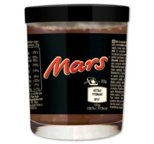 MARS, MILKY WAY oder BOUNTY Aufstrich