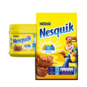 Nestlé Nesquik oder Nesquik zuckerreduziert