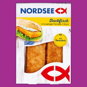 Nordsee Fischfrikadellen / Backfisch