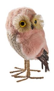 Deko-Eule (rosa)