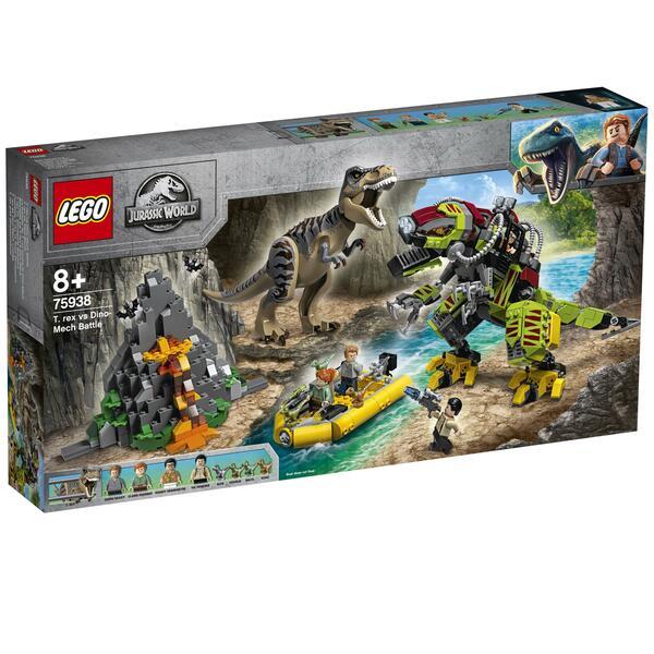 LEGO Jurassic World 75938 T. rex vs. Dino-Mech