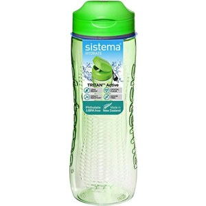 Sistema - Trinkflasche Tritan Active, 800ml, sortiert