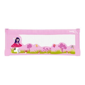 Bettgitter Fairies, 130 x 43,5 cm, rosa