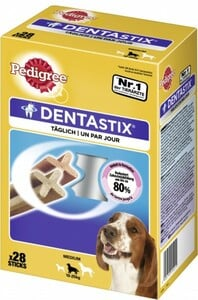 Pedigree Denta Stix Daily Oral Care MP für mittelgroße Hunde ,  Inhalt: 720 g
