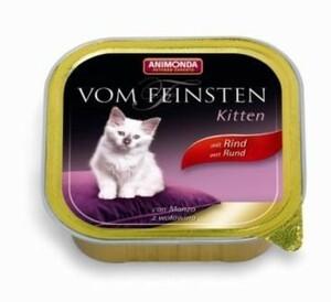 Animonda vom Feinsten Kitten Rind ,  Inhalt: 100 g