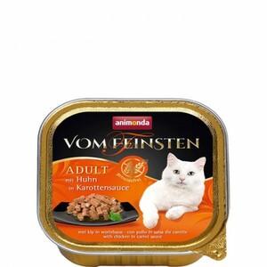 Animonda Cat Vom Feinsten mit Huhn in Karottensauce ,  Inhalt: 100 g
