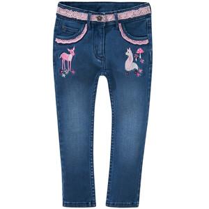 Mädchen Skinny-Jeans mit Spitze