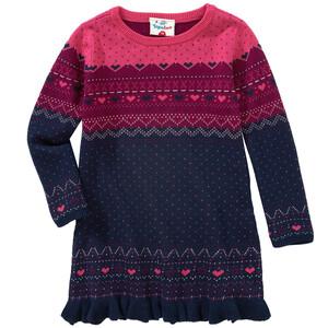 Mädchen Pullover imt Allover-Muster