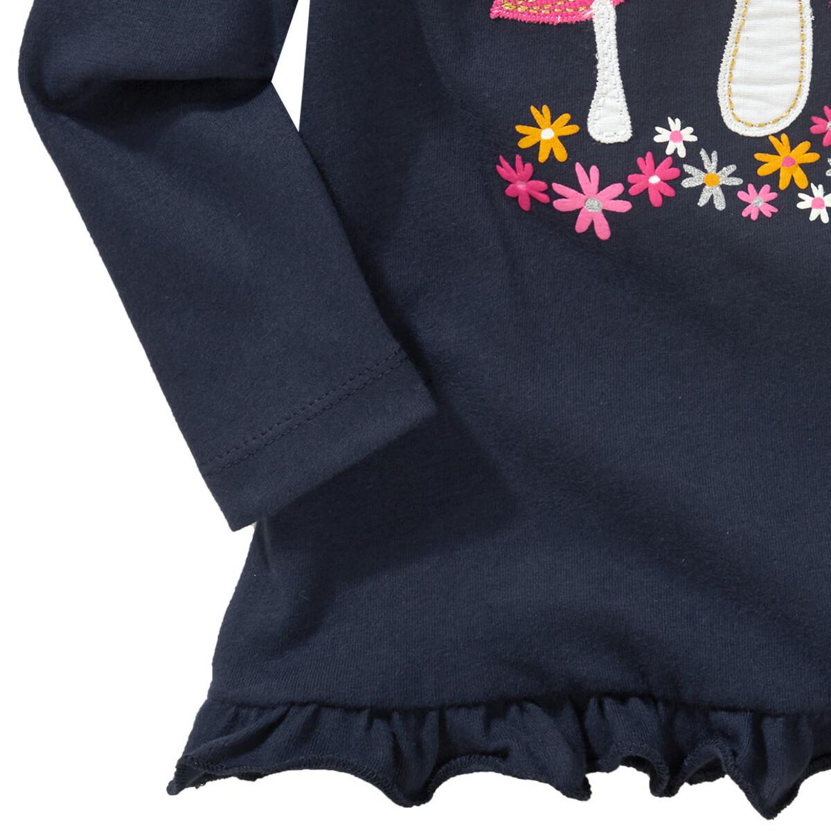 Bild 4 von Mädchen Langarmshirt mit Puppenshirt