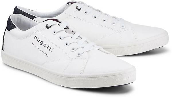 Fashion-Sneaker von Bugatti Denim in weiß für Herren. Gr. 44