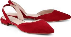 Sling-Ballerina von COX in rot für Damen. Gr. 37