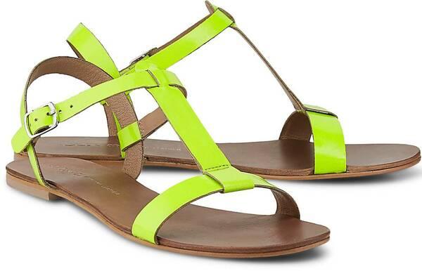 Sommer-Sandale von COX in gelb für Damen. Gr. 36,37,38,39,40