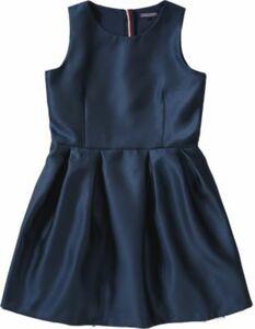Kinder Kleid dunkelblau Gr. 176 Mädchen Kinder