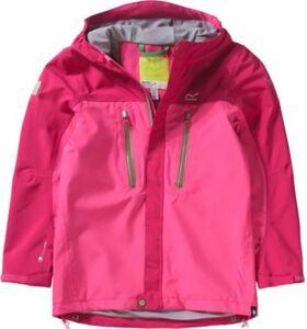 Kinder Regenjacke Hipoint Stretch pink Gr. 140 Mädchen Kinder