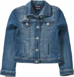 Jeansjacke blue denim Gr. 116 Mädchen Kinder