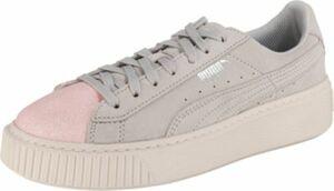 Sneakers Platform Glam grau Gr. 35,5 Mädchen Kinder