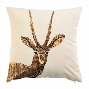 Kissenhülle Antilope, B:45cm x L:45cm, natur