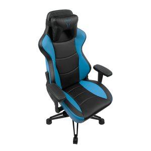 MEDION ERAZER® X89100 Gaming Chair, Stilvoll und komfortabel, Sportliche Optik und hochwertige Materialien, Mit 2 Kissen für den Rücken- und Kopfbereich