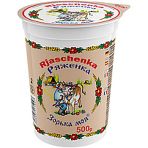"""""""Rjaschenka"""" - Joghurterzeugnis mit Karamellzuckersirup gefä..."""