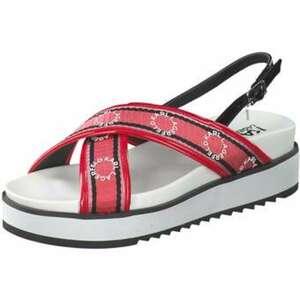 Karl Lagerfeld Kondo Ring Sandale Damen rot