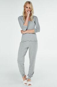Hunkemöller Pyjamaset Grau