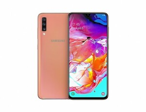 Samsung Smartphone A70, 128 GB ,  koralle